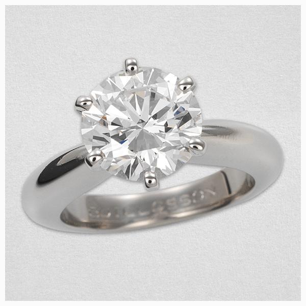 bague diamant de laboratoire